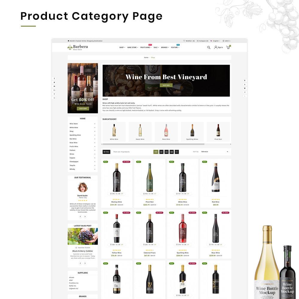 theme - Boissons & Tabac - Barbera Mega Wine–Vin Liquor–Alcohol Super Store - 3