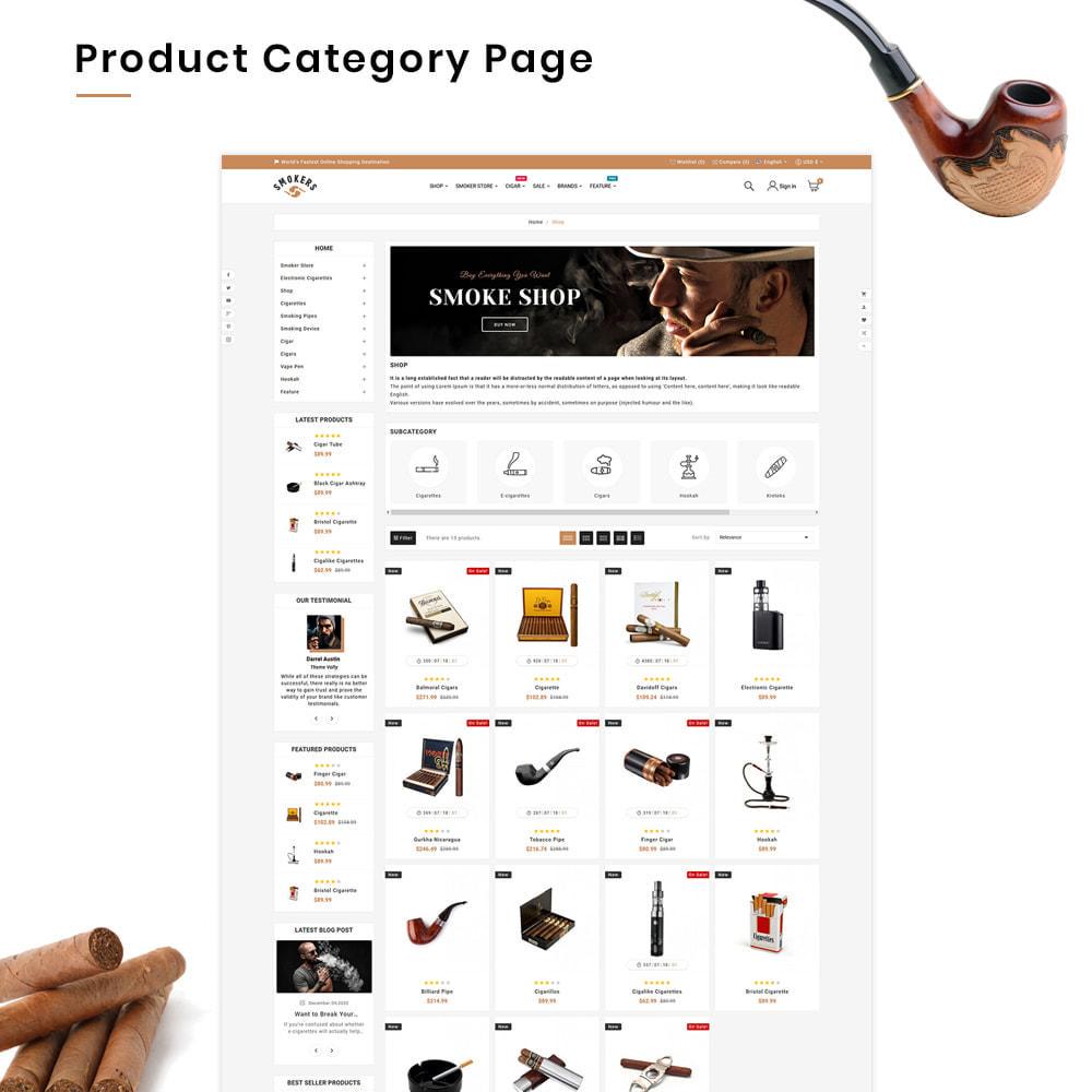 theme - Drink & Wine - Smokers Mega Tobacco–Cigar Wine–Vin Super Store v1 - 3