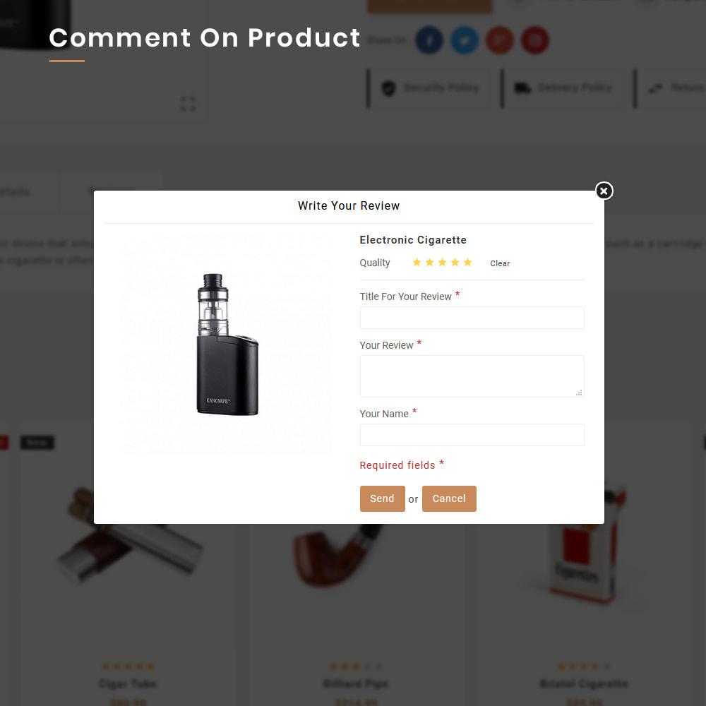 theme - Drink & Wine - Smokers Mega Tobacco–Cigar Wine–Vin Super Store v1 - 11
