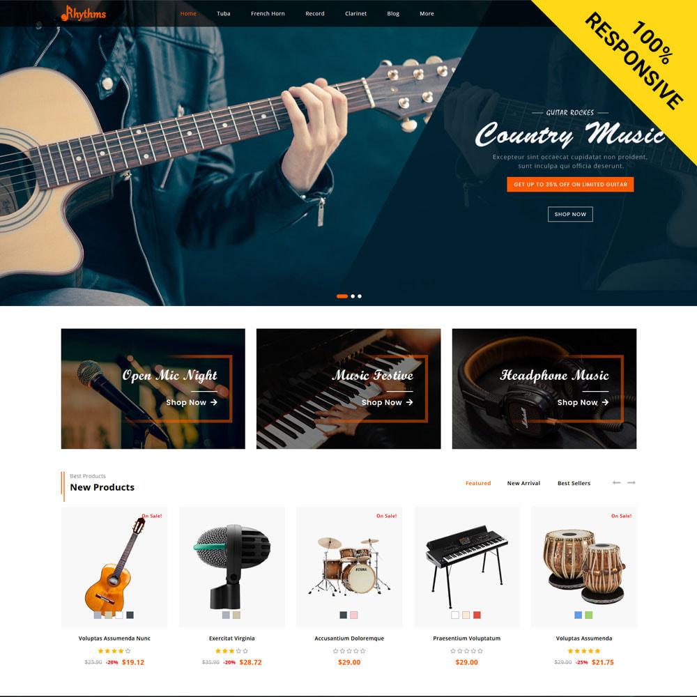 theme - Sports, Activities & Travel - Rhythms - Music Store - 1