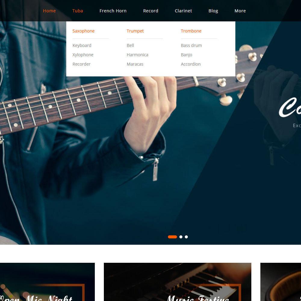 theme - Sports, Activities & Travel - Rhythms - Music Store - 2