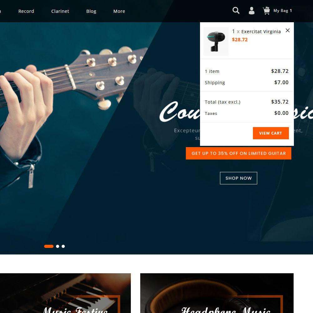 theme - Sports, Activities & Travel - Rhythms - Music Store - 7