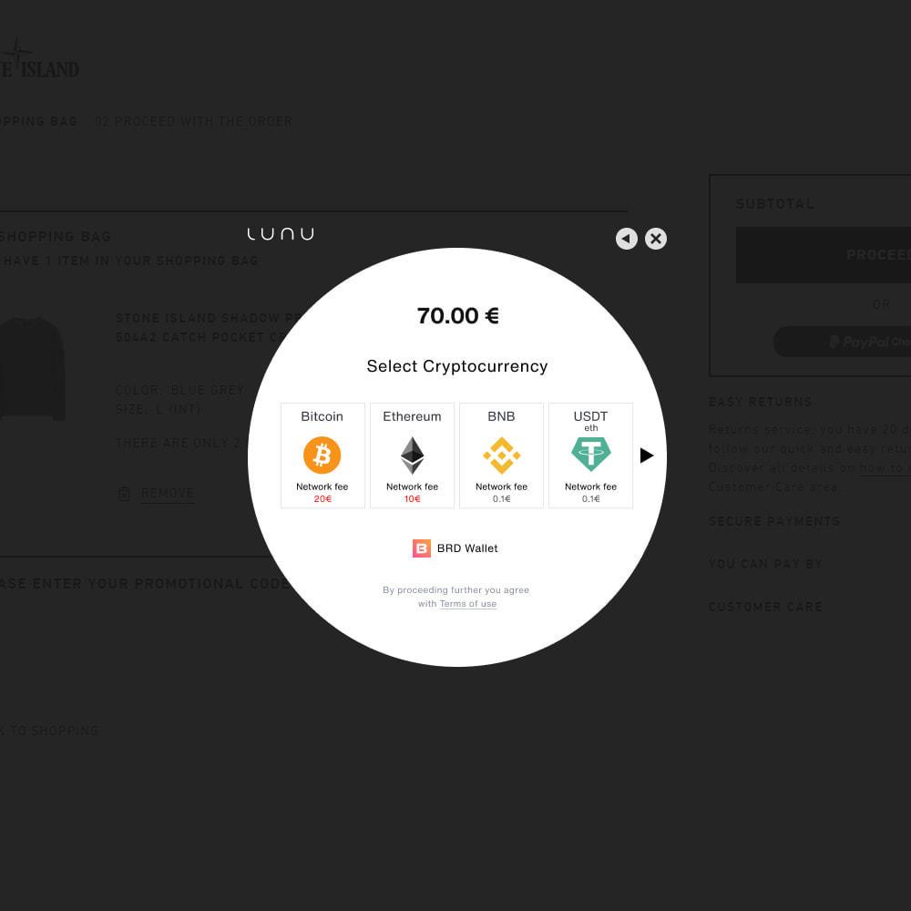 module - Altri Metodi di Pagamento - Lunu payment gateway - 3