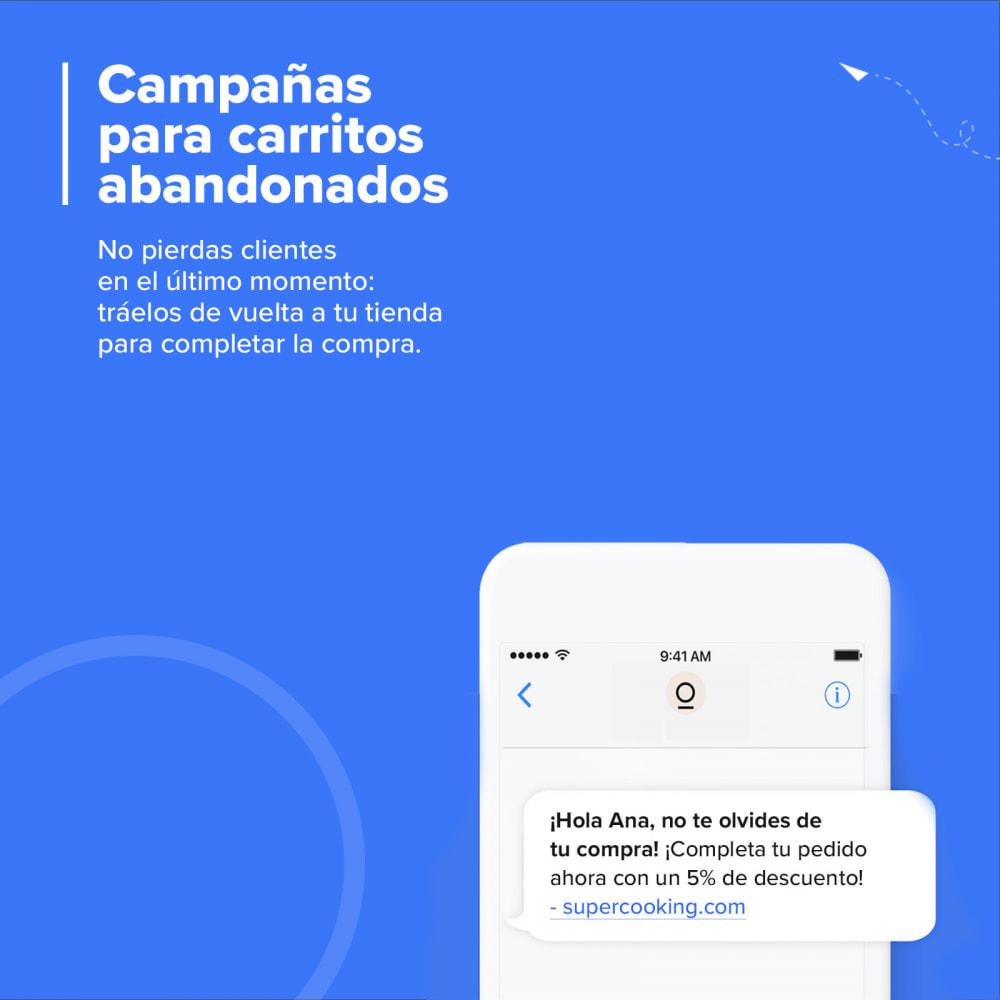 module - Remarketing y Carritos abandonados - Carts Guru | SMS, email y Messenger marketing - 1
