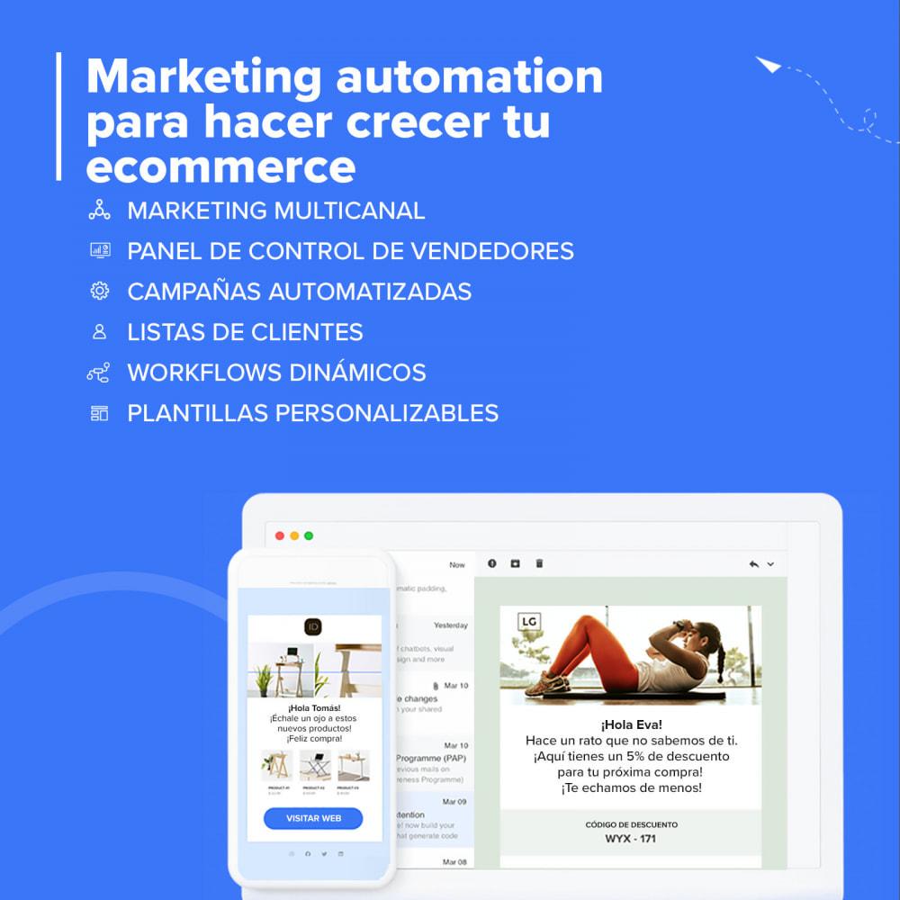 module - Remarketing y Carritos abandonados - Carts Guru | SMS, email y Messenger marketing - 2