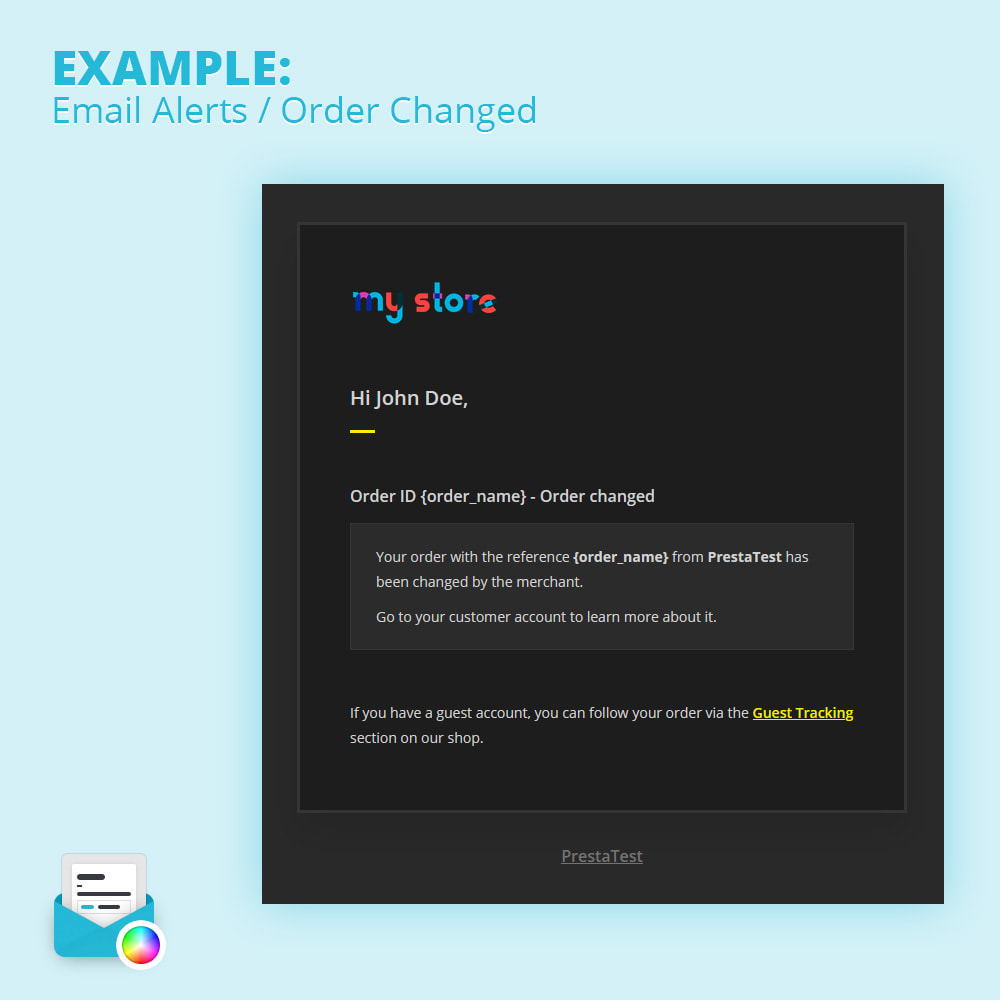 module - Email & Notifiche - Modern Mail Template Customizer - 3