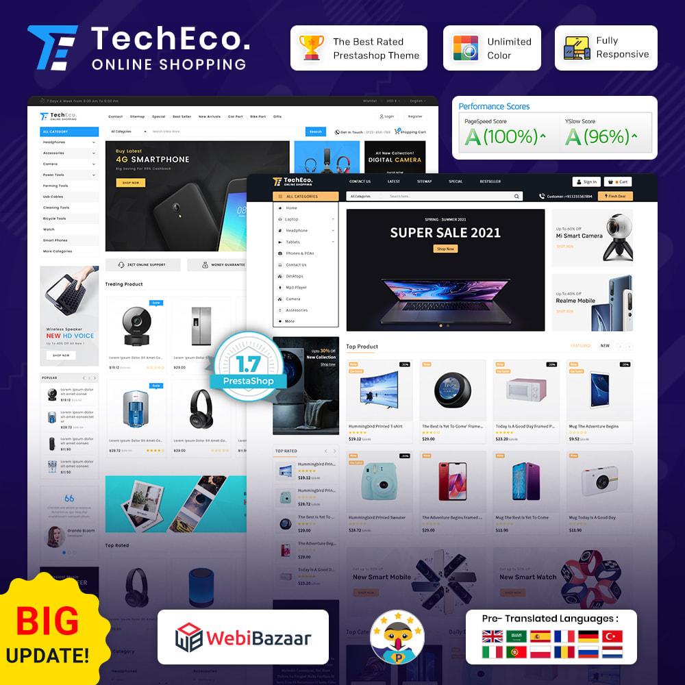 theme - Elektronika & High Tech - TechEco  - The Online Shopping - 1