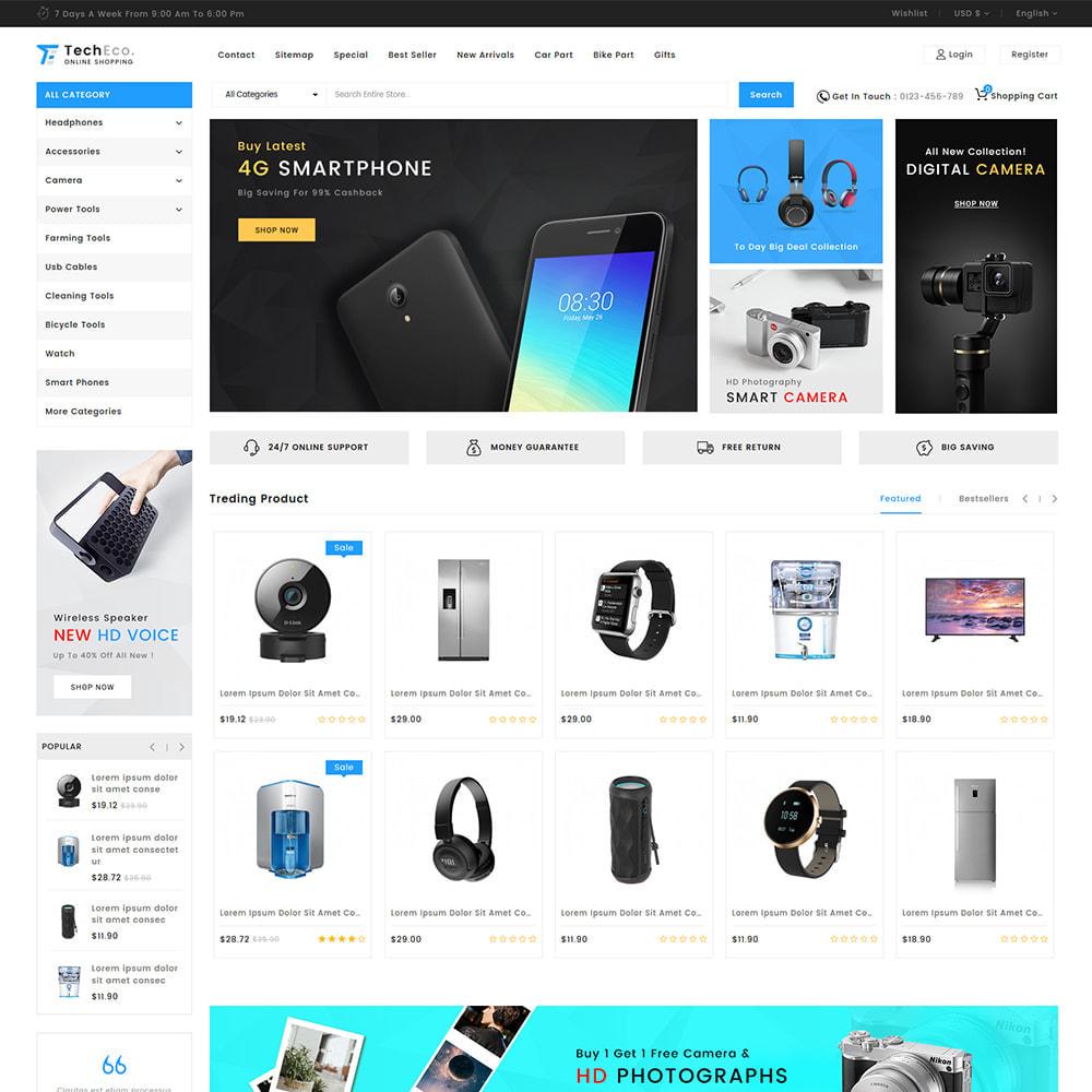 theme - Elektronika & High Tech - TechEco  - The Online Shopping - 3
