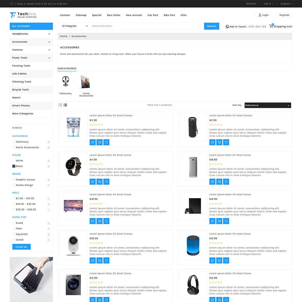theme - Elektronika & High Tech - TechEco  - The Online Shopping - 6