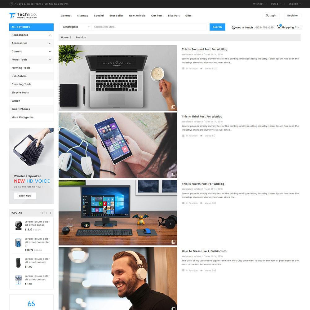 theme - Elektronika & High Tech - TechEco  - The Online Shopping - 8