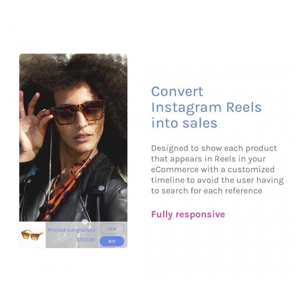 module - Video's & Muziek - Godzilla Reels - Convert Instagram Reels into sales - 1