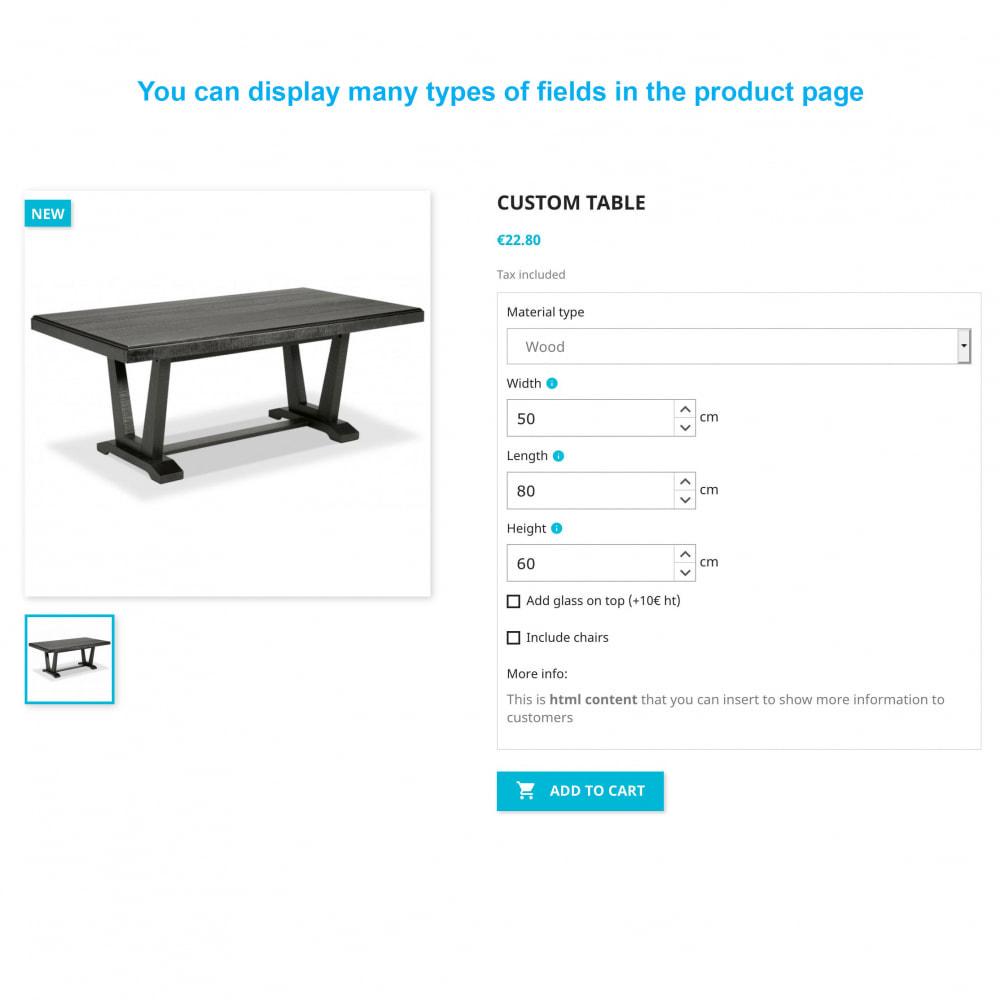 module - Grandezze & Unità di misura - Dynamic Product Price - 1