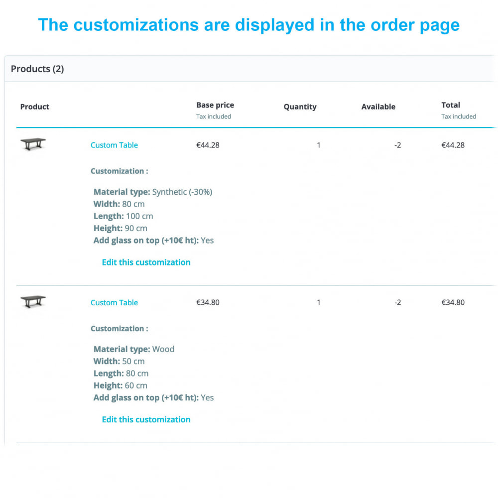 module - Grandezze & Unità di misura - Dynamic Product Price - 4