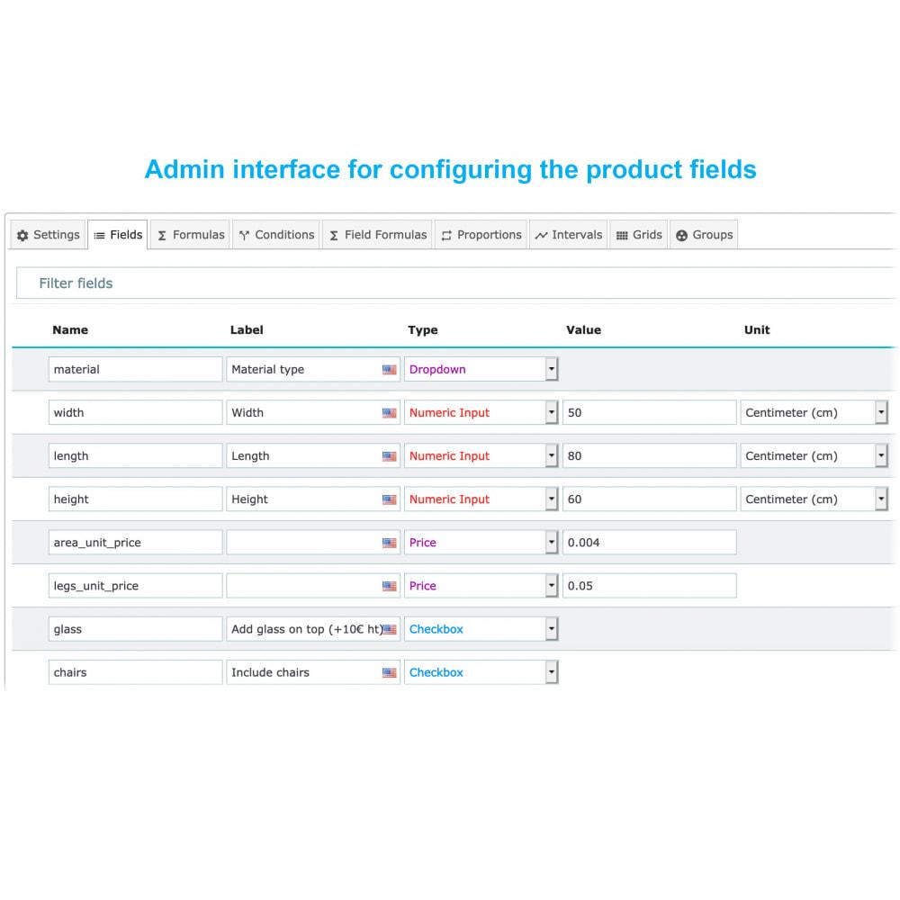 module - Grandezze & Unità di misura - Dynamic Product Price - 5
