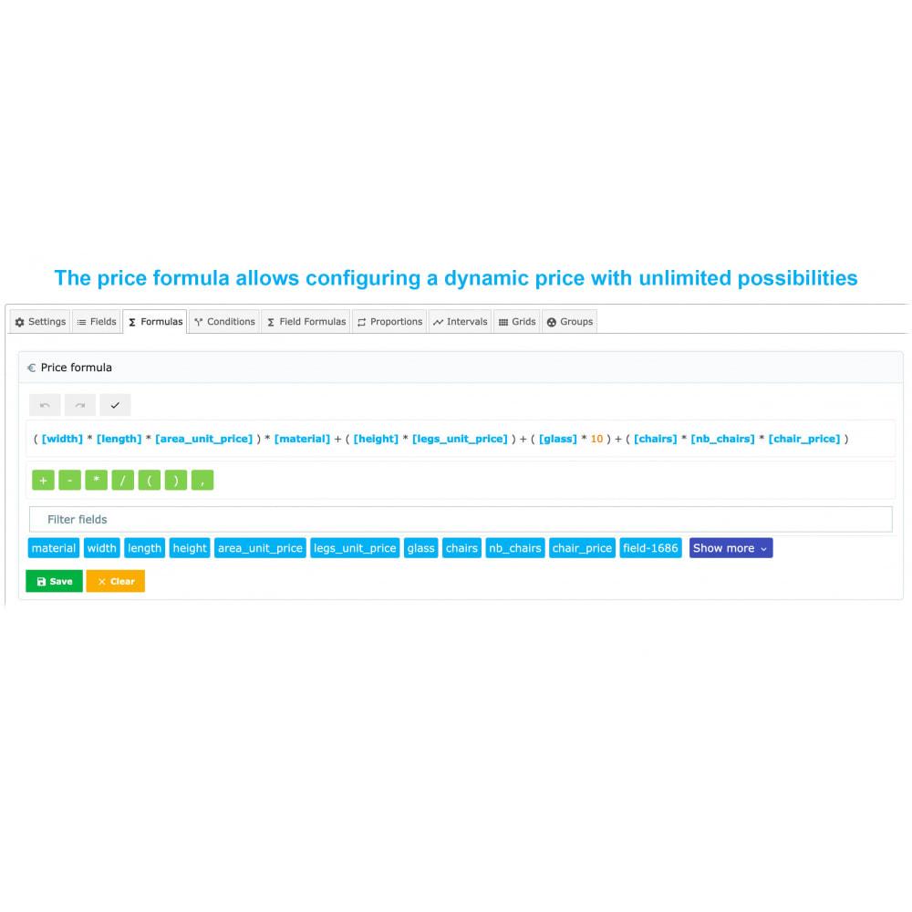 module - Grandezze & Unità di misura - Dynamic Product Price - 6