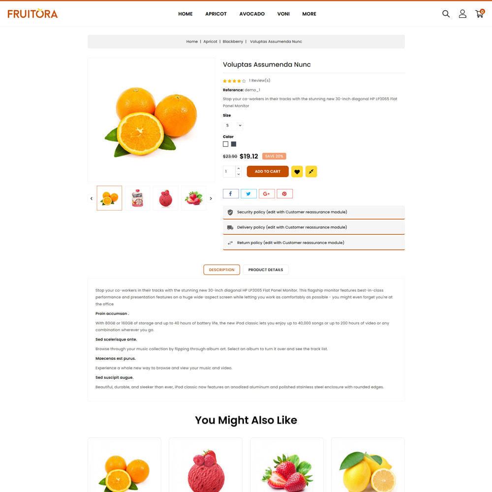 theme - Cibo & Ristorazione - Fruitora - Fruit Shop - 4