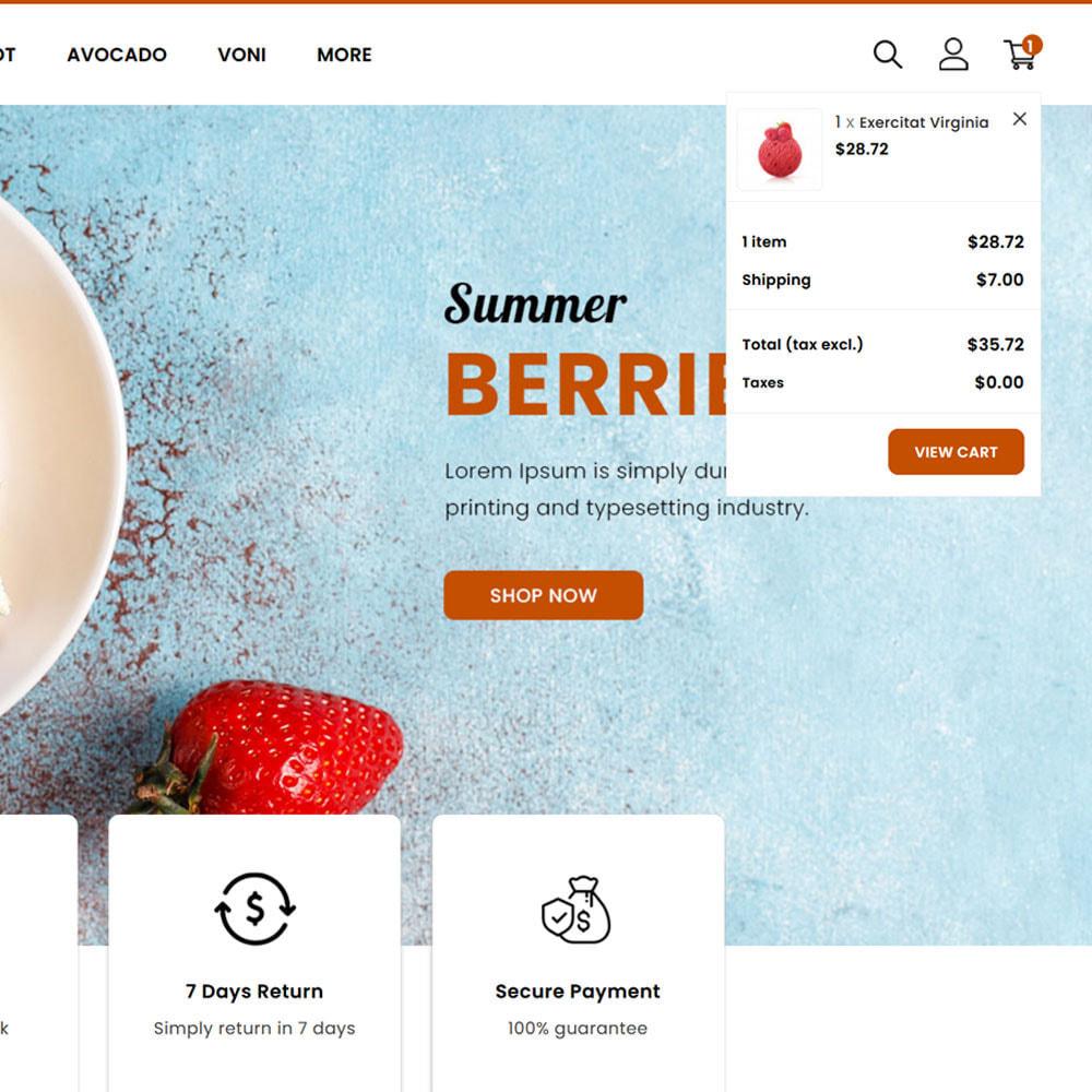 theme - Cibo & Ristorazione - Fruitora - Fruit Shop - 7