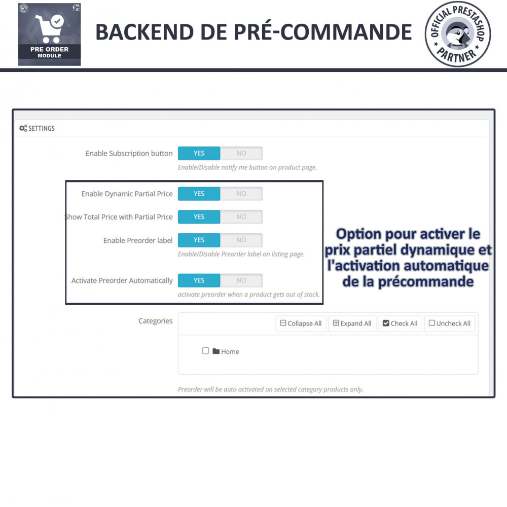 module - Inscription & Processus de commande - Pre-Order - Advance Booking | Out of Stock Selling - 13