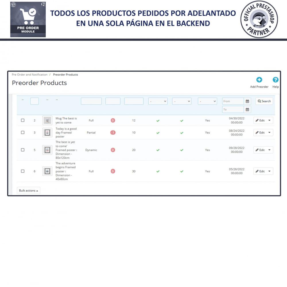 module - Inscripción y Proceso del pedido - Pre-Order - Advance Booking | Out of Stock Selling - 9
