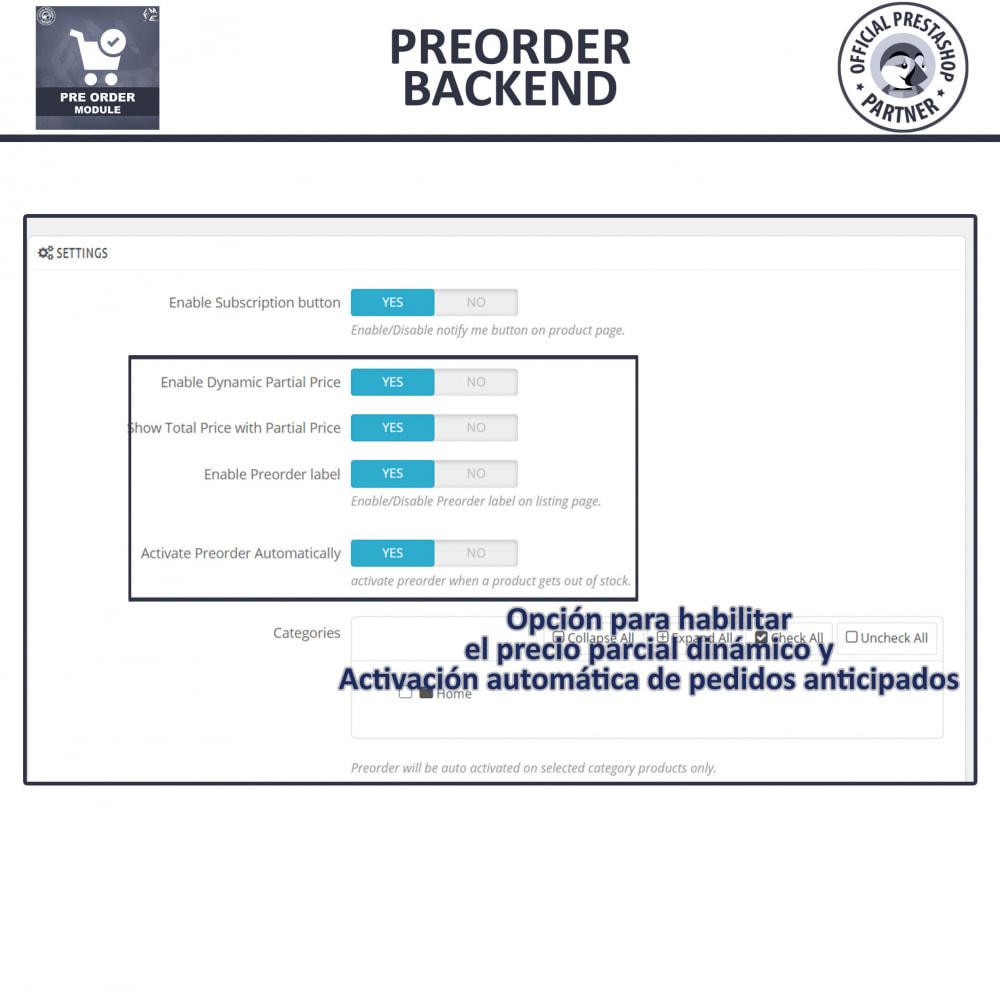 module - Inscripción y Proceso del pedido - Pre-Order - Advance Booking | Out of Stock Selling - 13