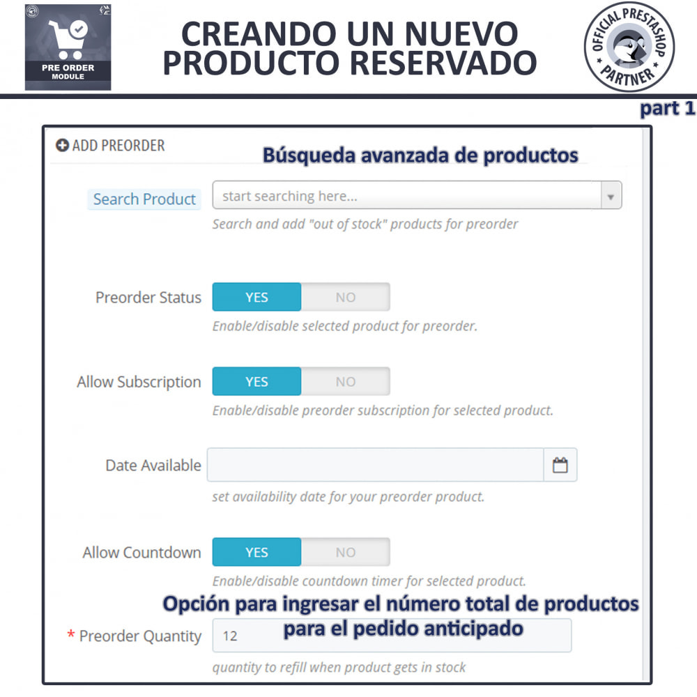 module - Inscripción y Proceso del pedido - Pre-Order - Advance Booking | Out of Stock Selling - 10