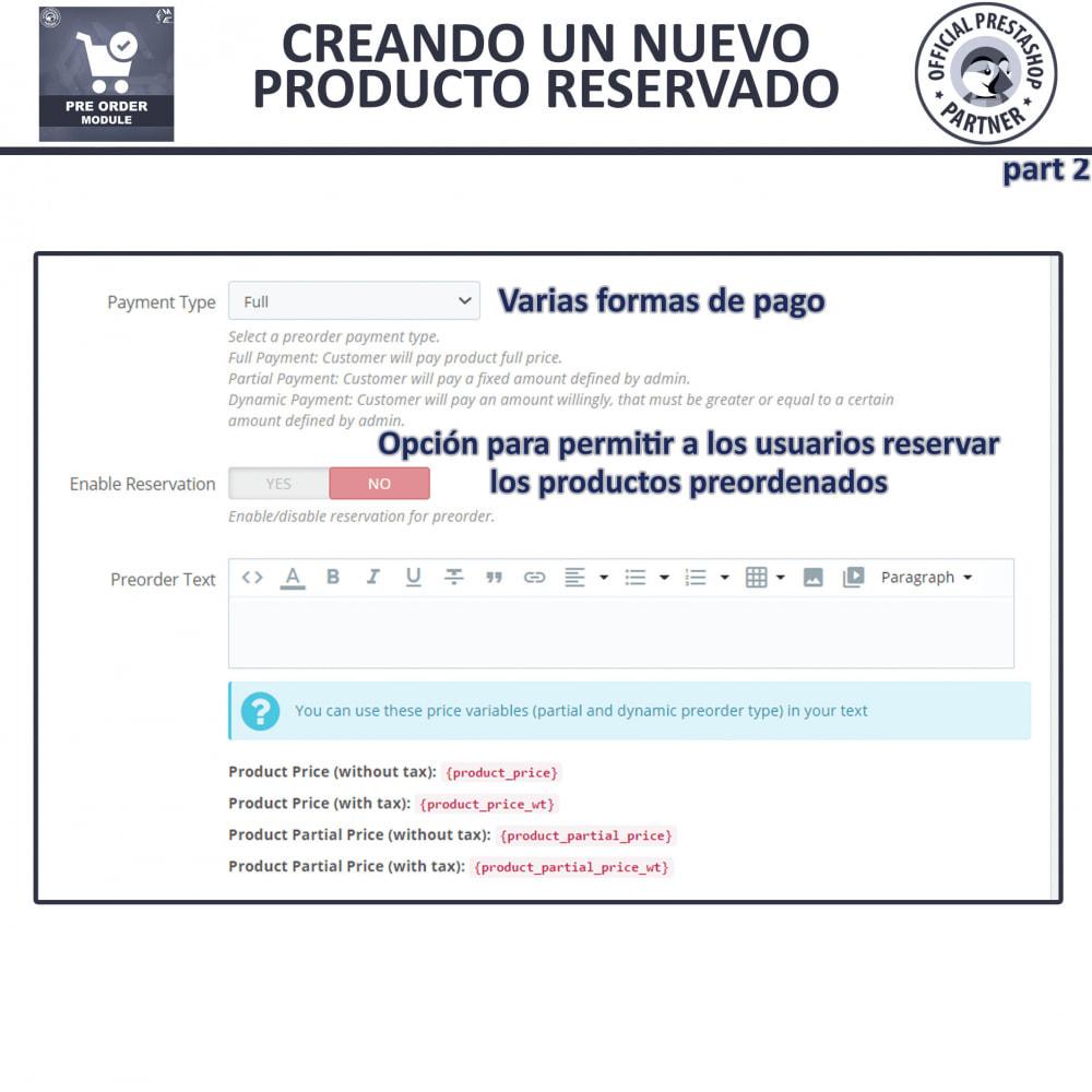 module - Inscripción y Proceso del pedido - Pre-Order - Advance Booking | Out of Stock Selling - 11