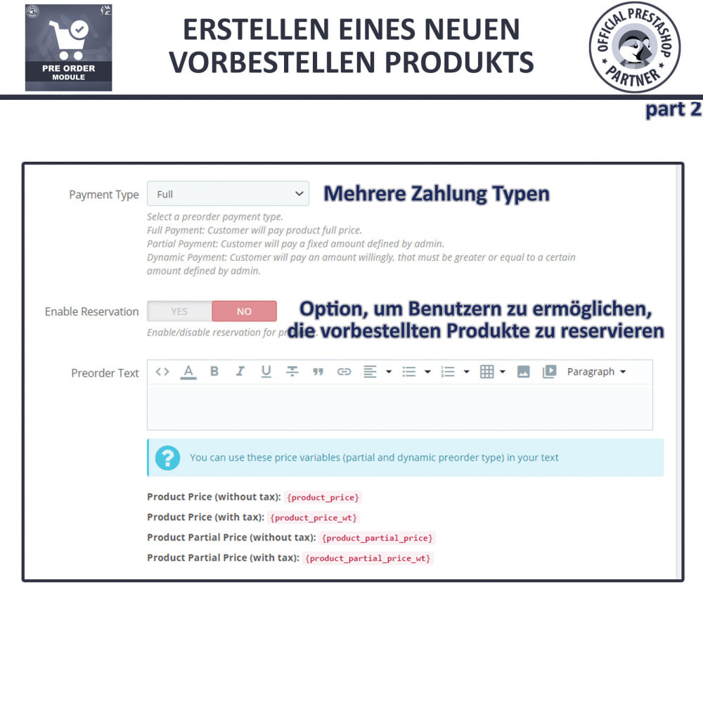 module - Anmeldung und Bestellvorgang - Pre-Order - Advance Booking | Out of Stock Selling - 11