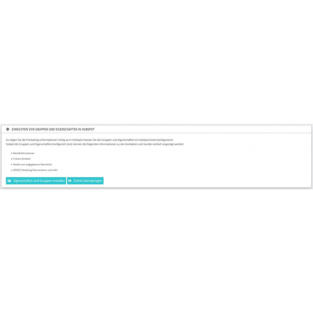module - Remarketing & Warenkorbabbrüche - E-Commerce Integration von HubSpot - 6