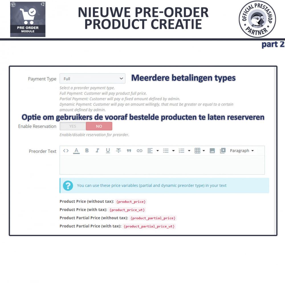 module - Registratie en Proces van bestellingen - Pre-Order - Advance Booking | Out of Stock Selling - 11