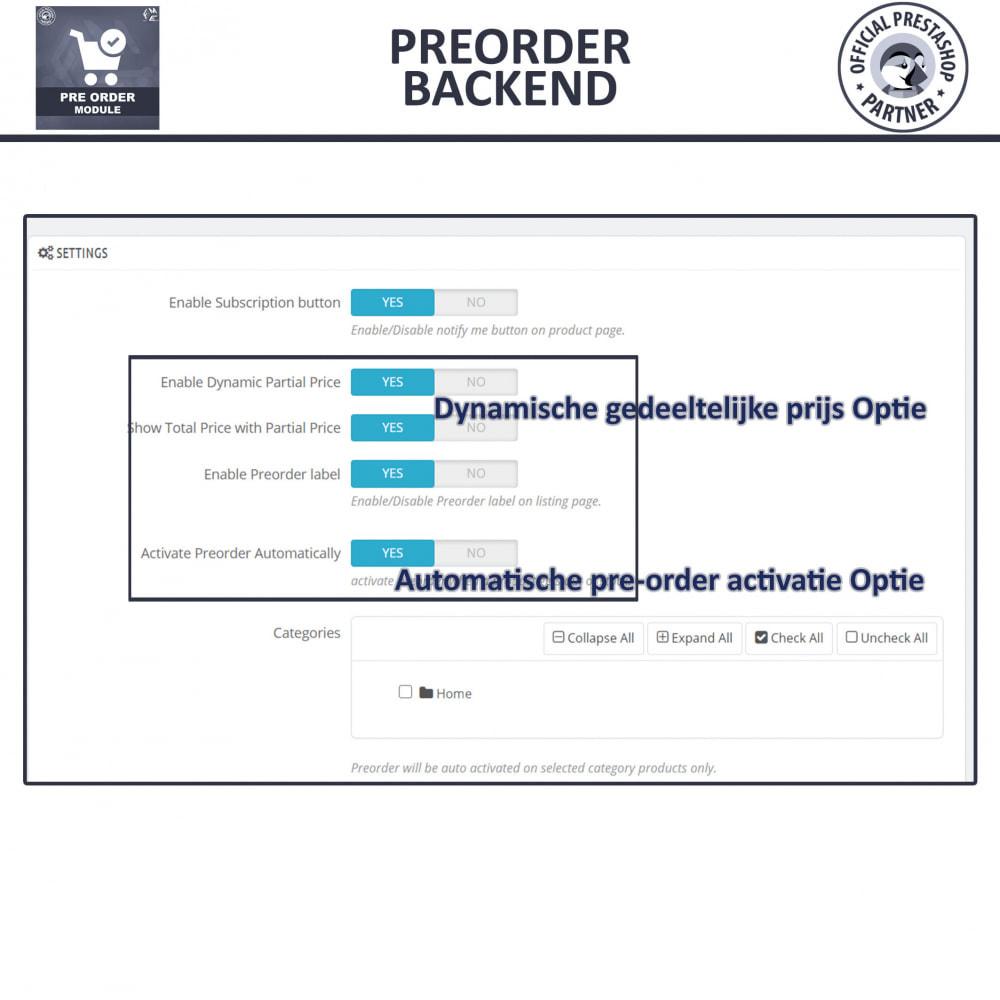 module - Registratie en Proces van bestellingen - Pre-Order - Advance Booking | Out of Stock Selling - 13