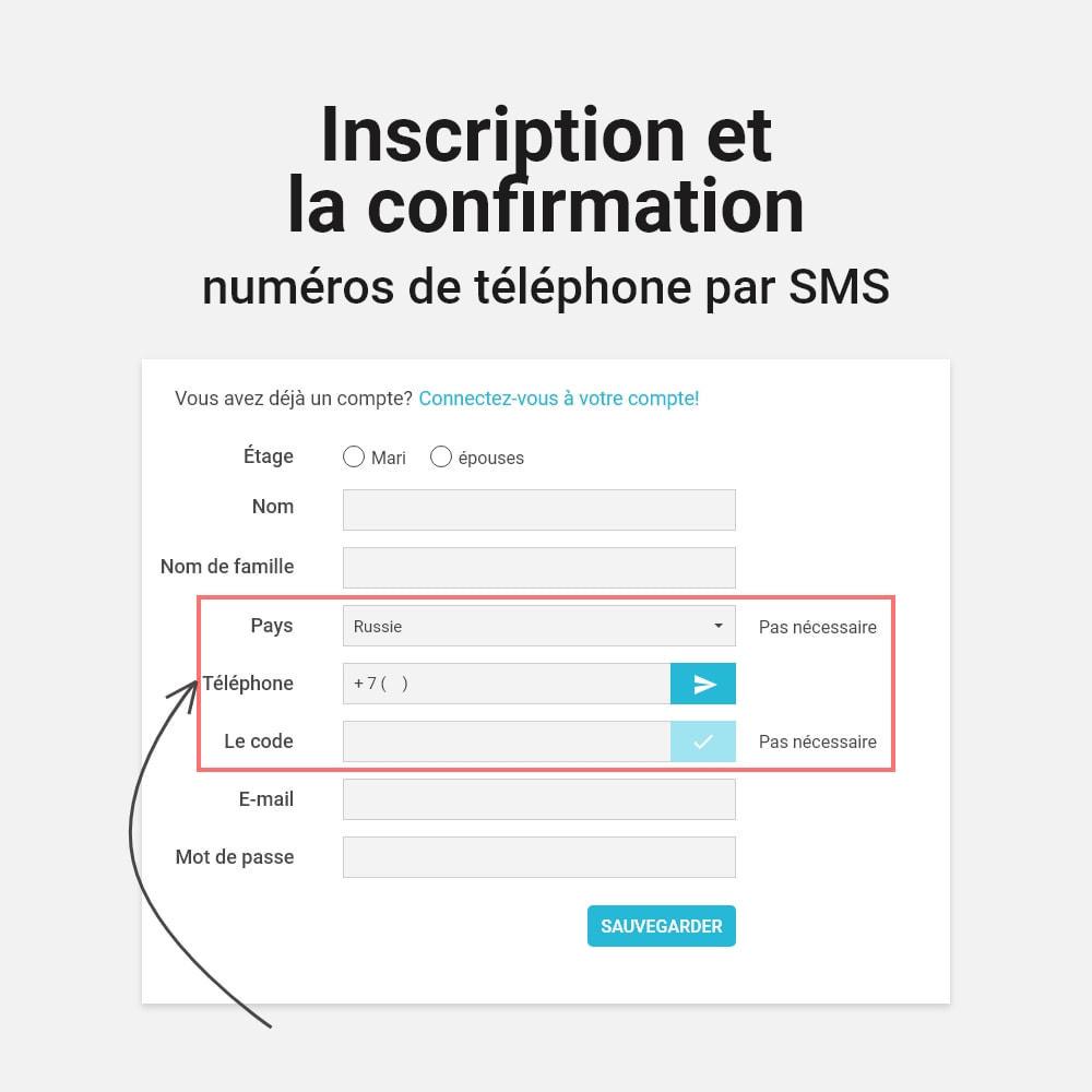 module - Mobile - Connexion et inscription par numéro de téléphone - 4