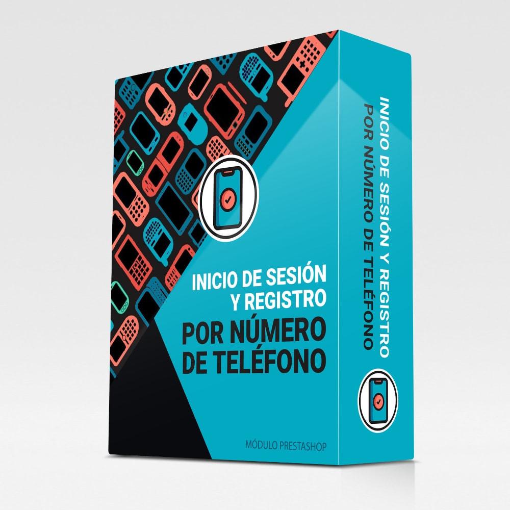module - Dispositivos móviles - Inicio de sesión y registro por número de teléfono - 1