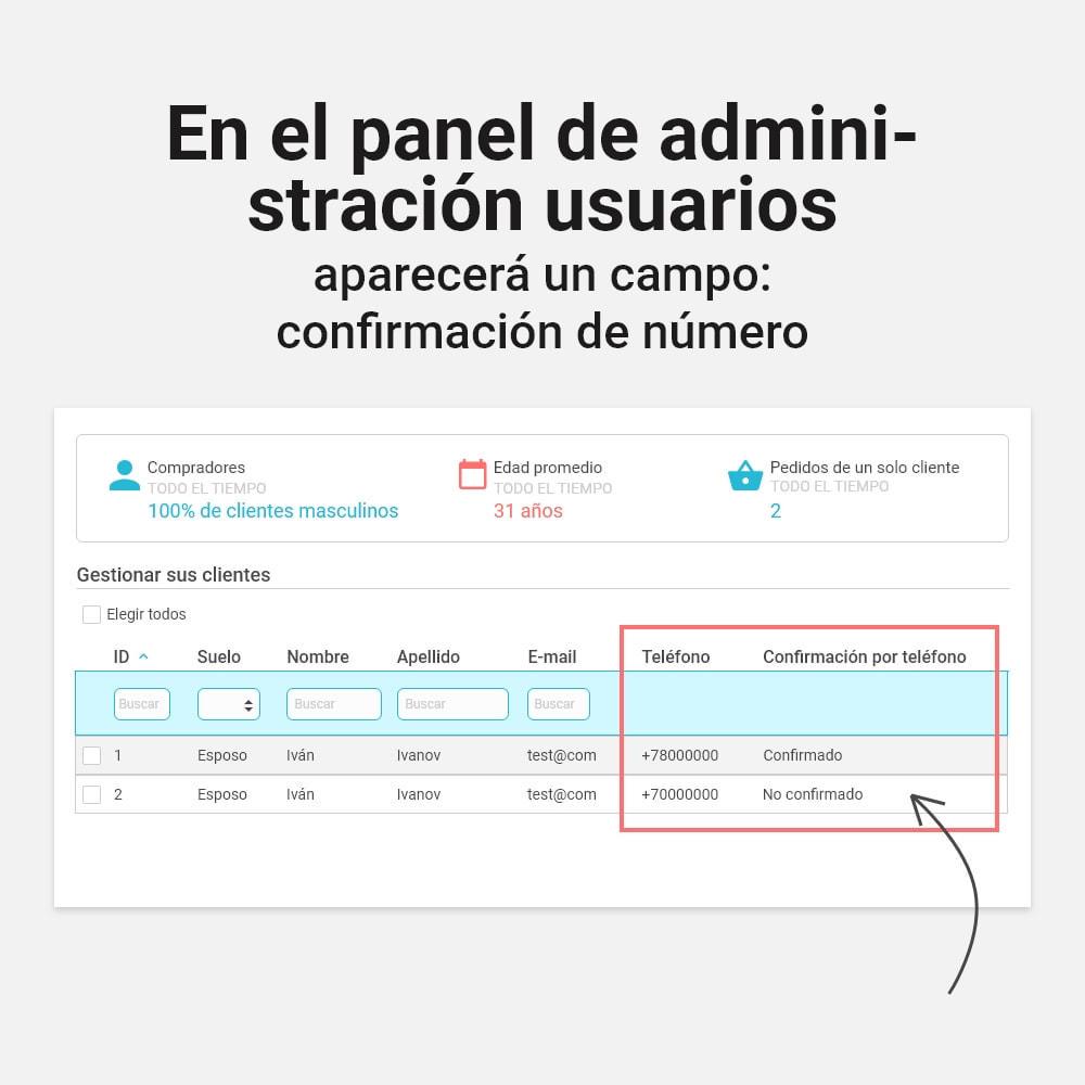 module - Dispositivos móviles - Inicio de sesión y registro por número de teléfono - 5