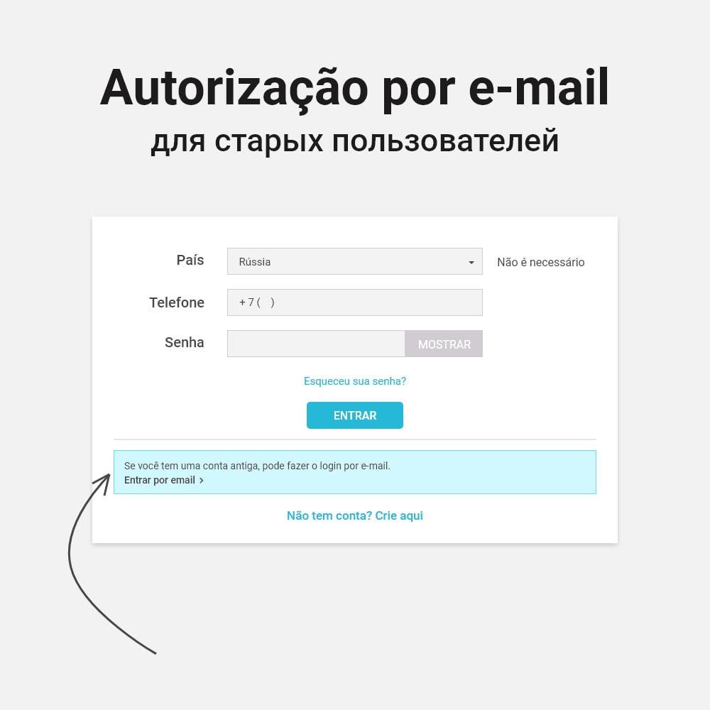 module - Dispositivos-móveis - Login e registro por número de telefone - 3
