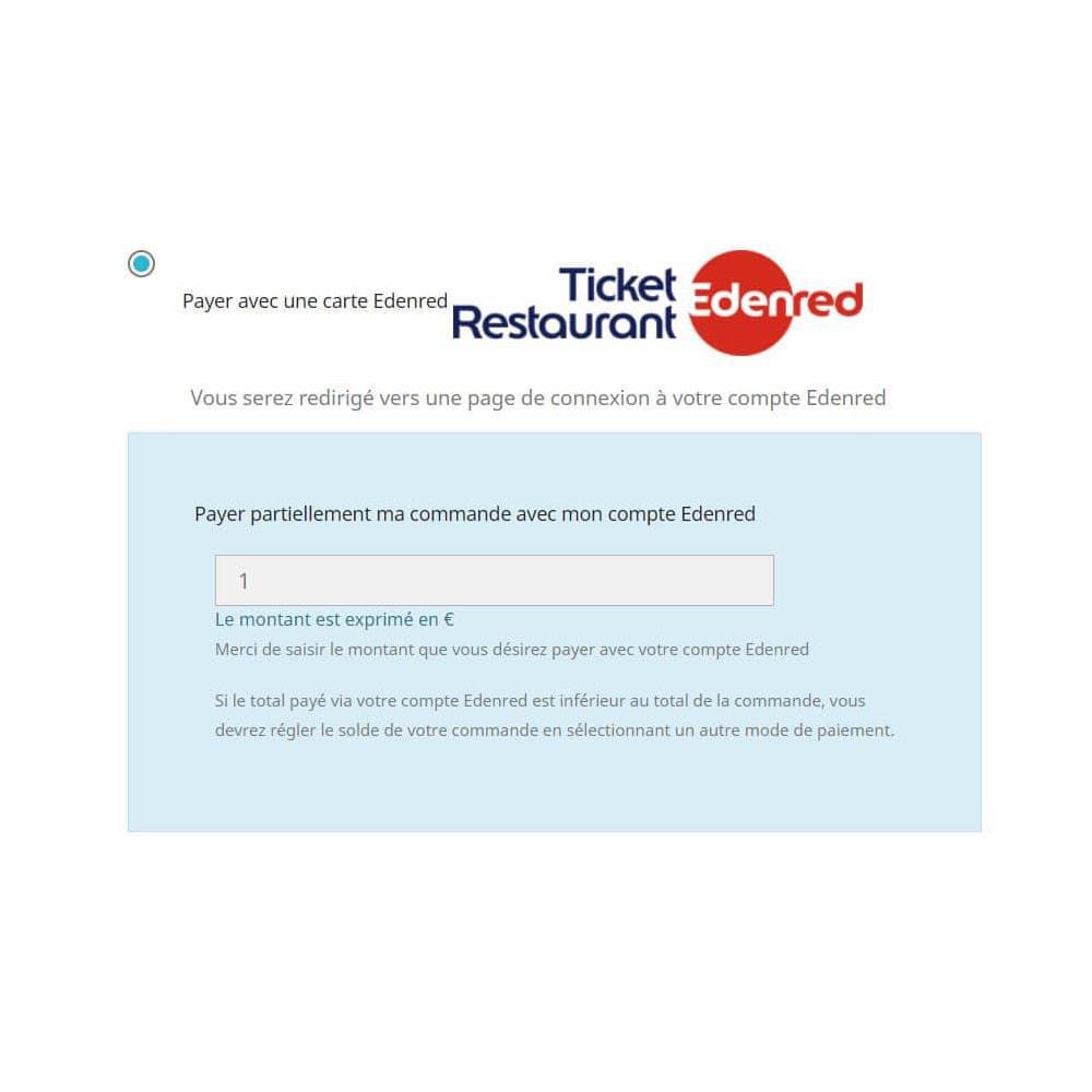 module - Płatność kartą lub Płatność Wallet - Edenred card payment - 2