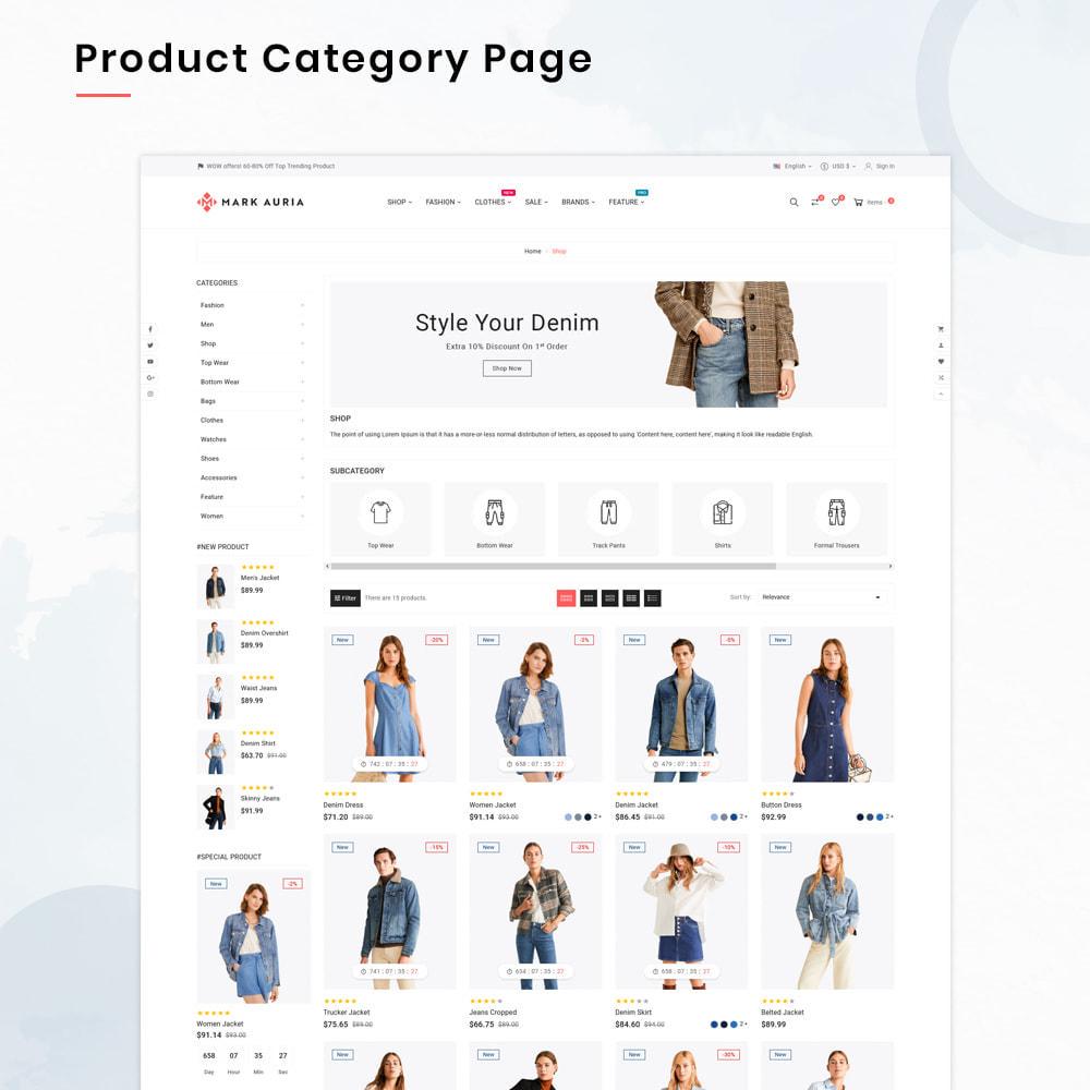 theme - Moda & Calzature - Markauria Mega Fashion–Clothes Super Store - 3
