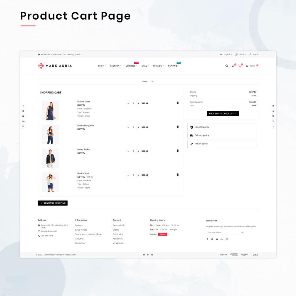 theme - Moda & Calzature - Markauria Mega Fashion–Clothes Super Store - 5