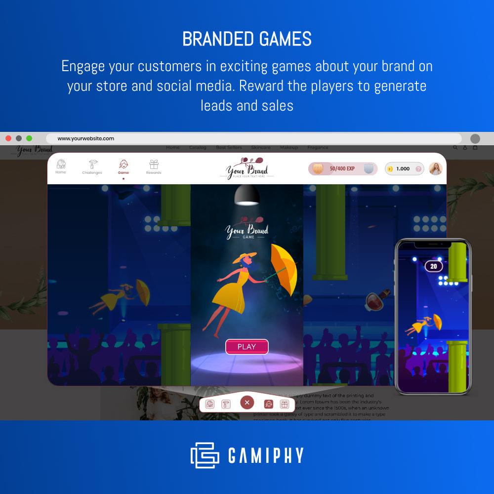 module - Fidelização & Apadrinhamento - - Gamiphy: All in one Loyalty, games, and referrals - - 3