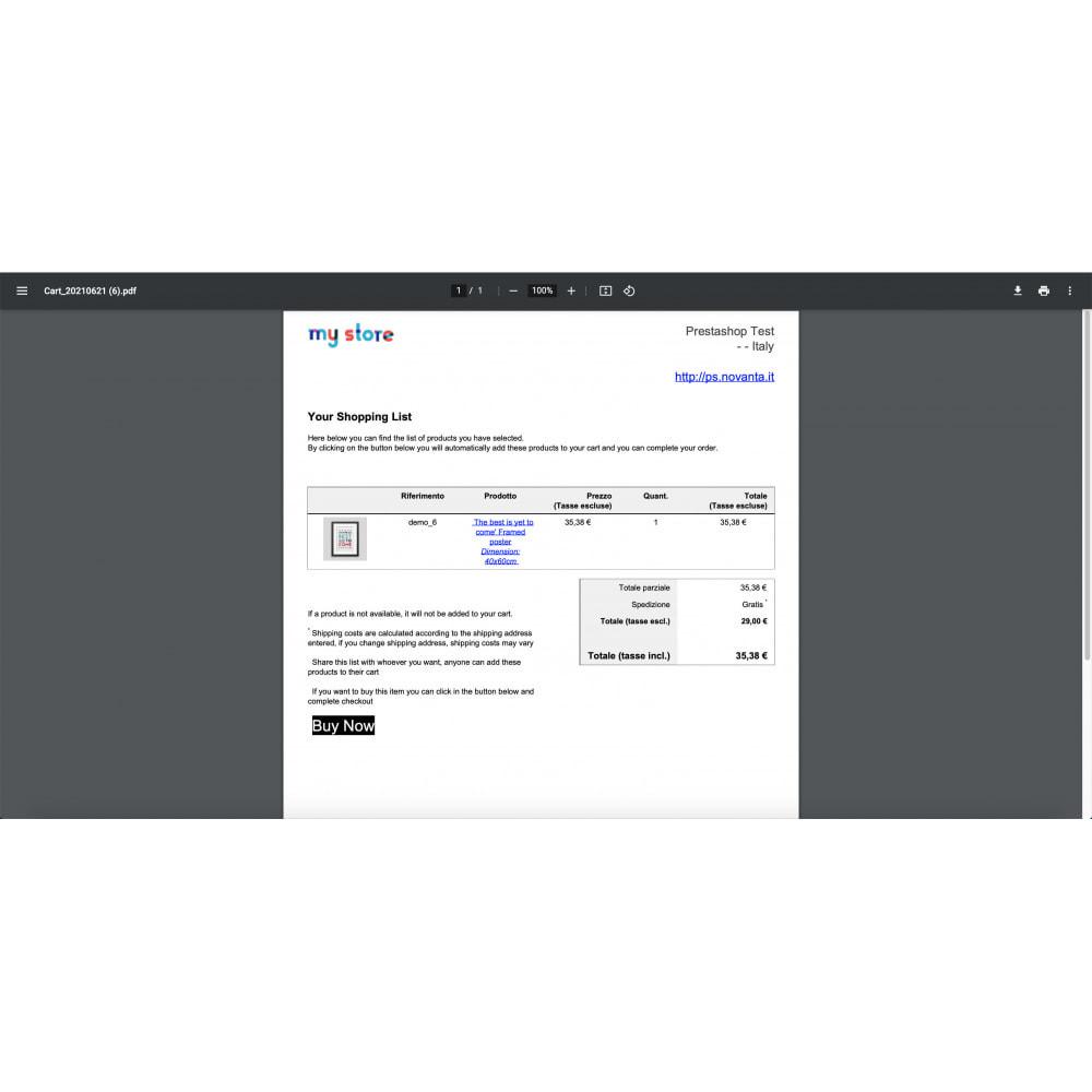 module - Importação & exportação de dados - Cart Exporter - 2