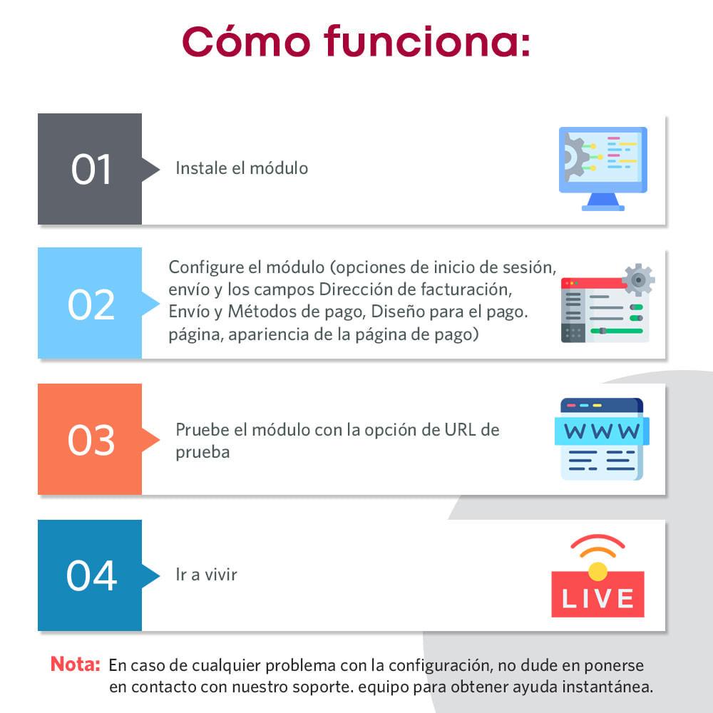 module - Proceso rápido de compra - One Page Checkout, Social Login & Mailchimp - 3