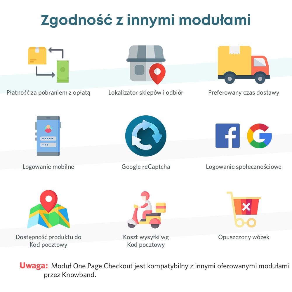 module - Szybki proces składania zamówienia - One Page Checkout, Social Login & Mailchimp - 2