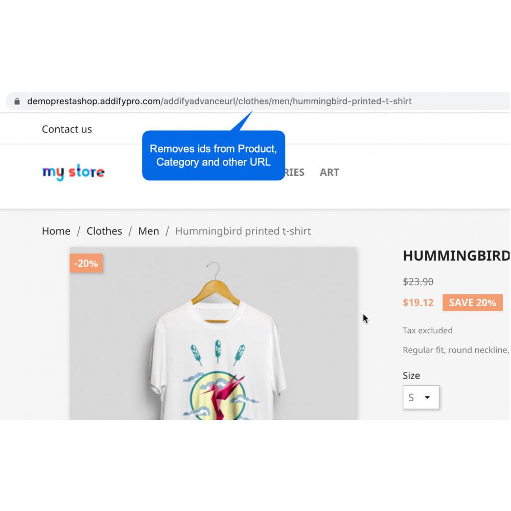module - Управления адресами URL и перенаправлением - Advanced URL - Pretty SEO Friendly URL without IDs - 2