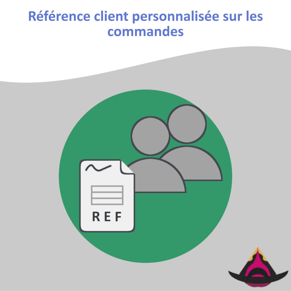 module - Comptabilité & Facturation - Référence client personnalisée sur les commandes - 1