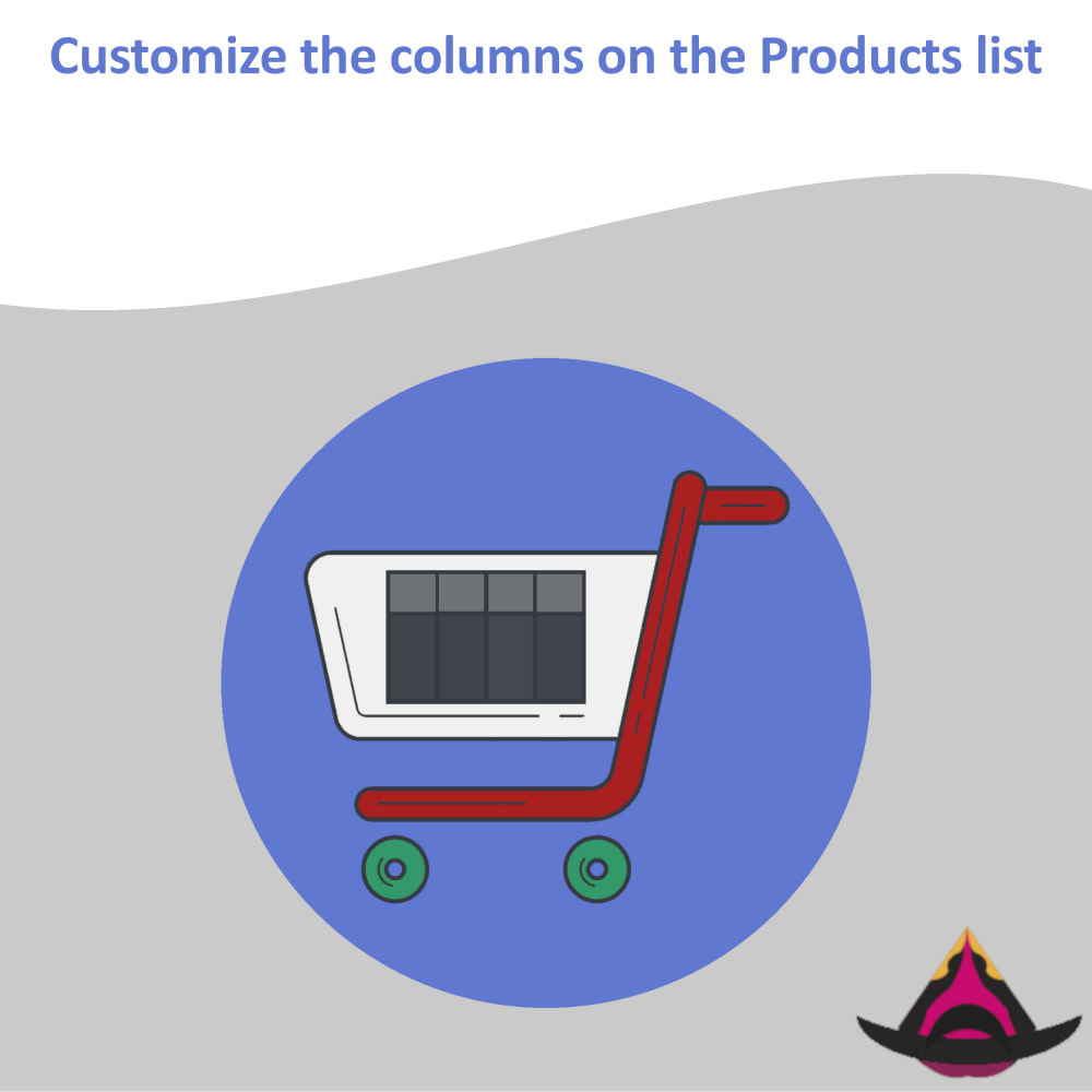 module - Narzędzia administracyjne - Customize the columns on the products list - 1