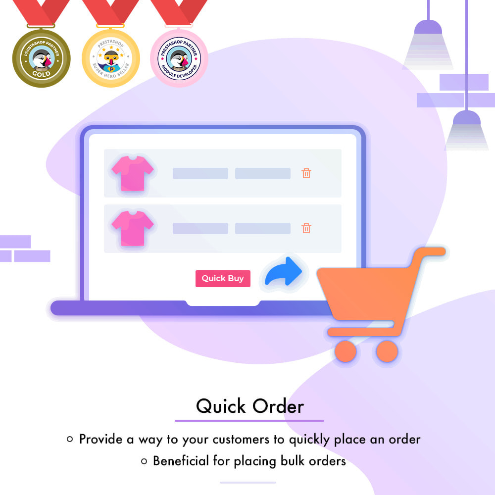 module - Anmeldung und Bestellvorgang - Quick Order | Fast Checkout - Order with Ease - 1