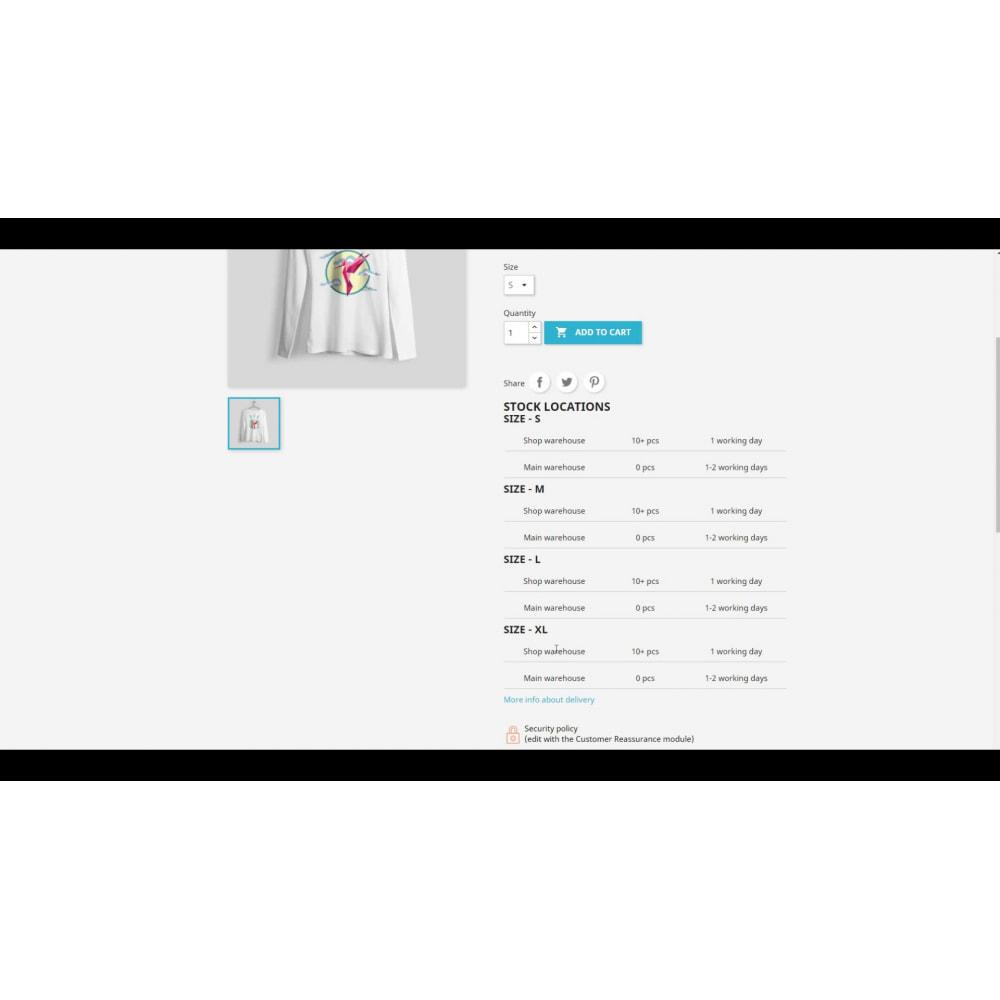 module - Gestione Scorte & Fornitori - AZ Warehouses Multi Locations Manager - 1