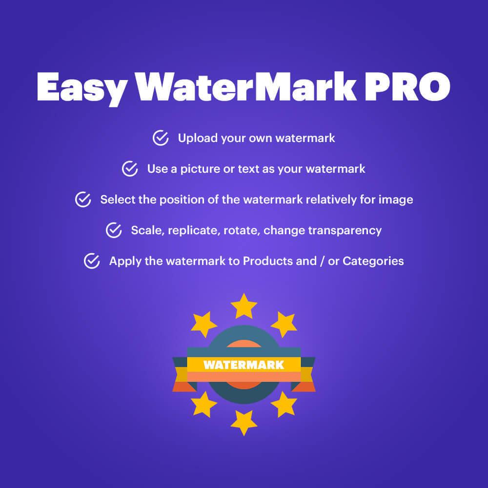 module - Visualizzazione Prodotti - Easy WaterMark PRO - 1