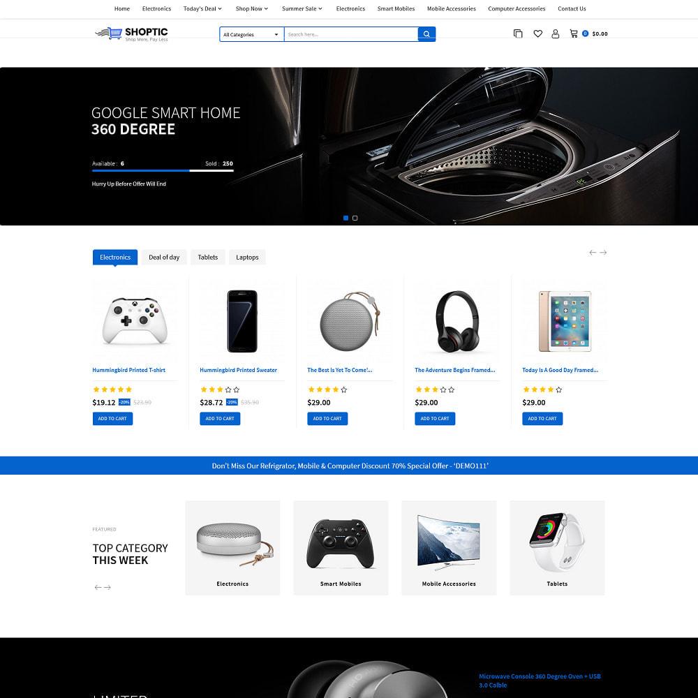 theme - Elektronika & High Tech - Shoptic - Electronic Store - 2