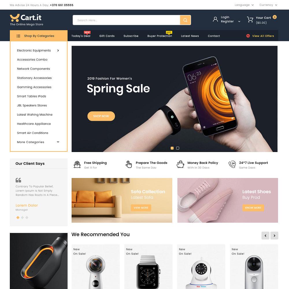 theme - Elektronika & High Tech - Shoptic - Electronic Store - 4