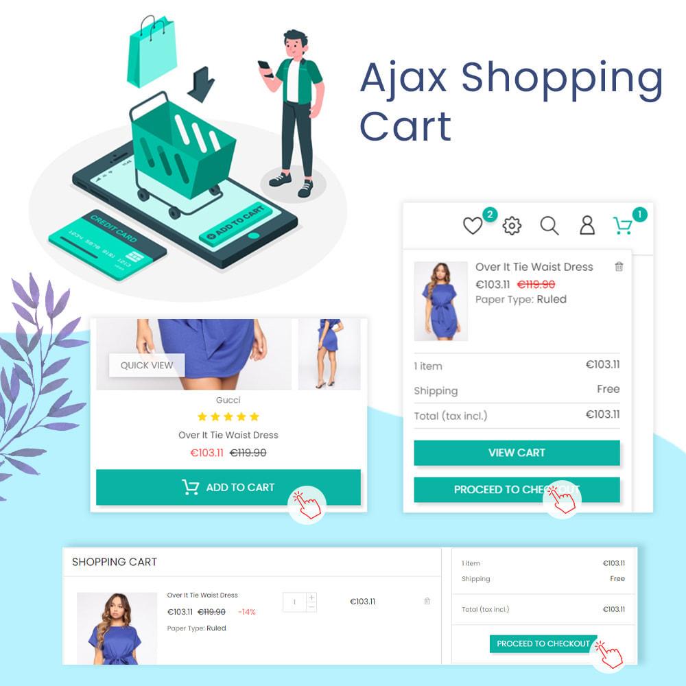 module - Процесс заказа - Ajax Shopping Cart - Popup & Drop Down - 1